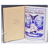 Franklin D. Roosevelt Inauguration Program
