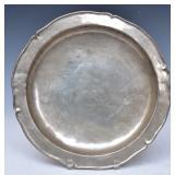 Chinese Paktong Platter