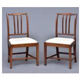 Pair of Federal Hepplewhite Side Chairs