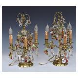 Pair of Garniture Lamps