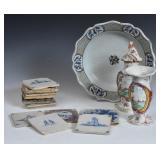 French Faience Charger