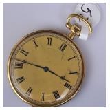 18k Gold Longines Pocket Watch