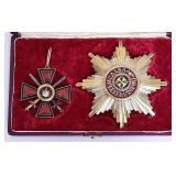 Russian Enamel Silver Medal Set