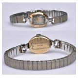 14k Gold Ladies Bulova Wrist Watch