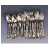 Partial Gorham Sterling Silver Flatware Set