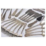 Steiff Sterling Silver Partial Flatware Set