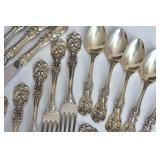 Reed & Barton Partial Sterling Silver Flatware Set