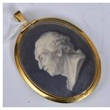 Grisaille Portrait Miniature