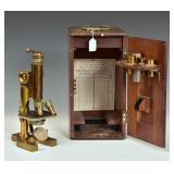 Bausch & Lomb Brass Microscope