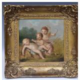 Pair of Joseph Bouviere Paintings
