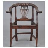 Italian Neo-Classical Arm Chair