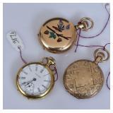 18k Gold Waltham Pocket Watch