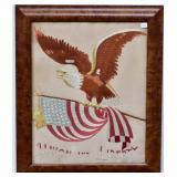 Patriotic Civil War Embroidery