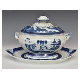Mottahedeh Porcelain Tureen