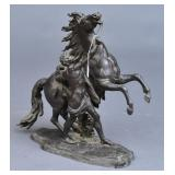 Bronze Grouping- The Marly Horse