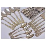 Stieff Sterling Silver Partial Set of Flatware