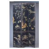 Chinese Three Panel Cormandel Screen