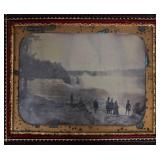 Half Plate Daguerrotype of Niagra Falls