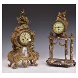 Two French Mantel Clocks