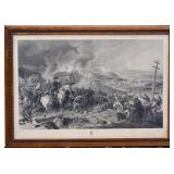 Civil War Steel Engraving