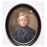 Two Victorian Portraits of Children