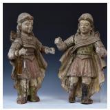 Two Santos Figures