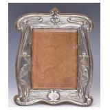 Art Nouveau Sterling Silver Frame