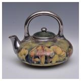 Moorcroft Claremont Toadstool  Tea Pot
