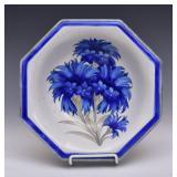Moorcroft Cornflower Octagonal Bowl