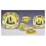 Quimper Partial Set of China