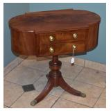 Federal Mahogany Sewing Stand