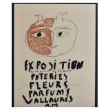 Pablo Picasso Exhibition Poster