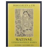 Henri Matisse Exhibition Posters (2)