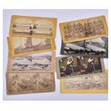 Group of Civil War Stereo Cards (8)