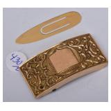 14k Gold Buckle