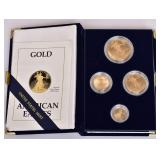 1989 American Eagle Gold Bullion Coins