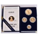 1990 American Eagle Gold Bullion Coins