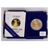 1986 American Eagle Gold Bullion Coin