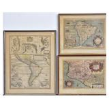 Three Antique Maps