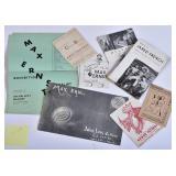 Julien Levy Exhibition Catalogues/Announcements