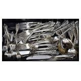 Wallace Sterling Silver Partial Flatware Set