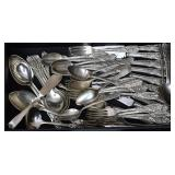 Partial Set Westmorland Sterling Silver Flatware