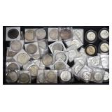 Collection of Silver Dollars and Half Dollars