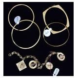 Group of 14k Gold Bracelets