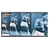Mohammed Ali Signed Adidas Poster