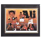Mohammed Ali Signed Lithograph
