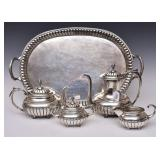 Mexican Sterling Silver Tea Set