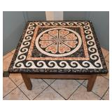 Mosaic Top Coffee Table