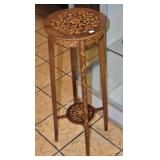 Marquetry Fern Stand