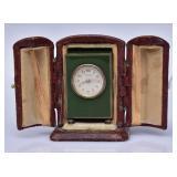 Cartier Miniature Enameled Clock
